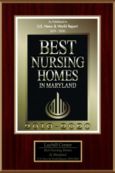 Best nursing homes awards